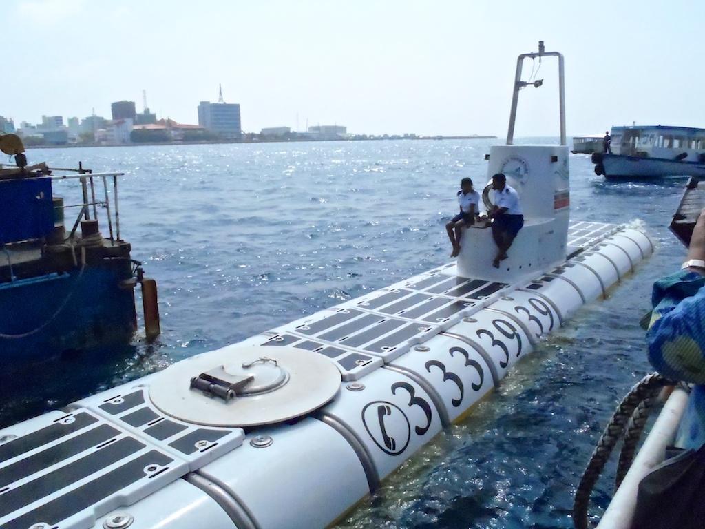 Whale Submarine en las Maldivas, Maldivas